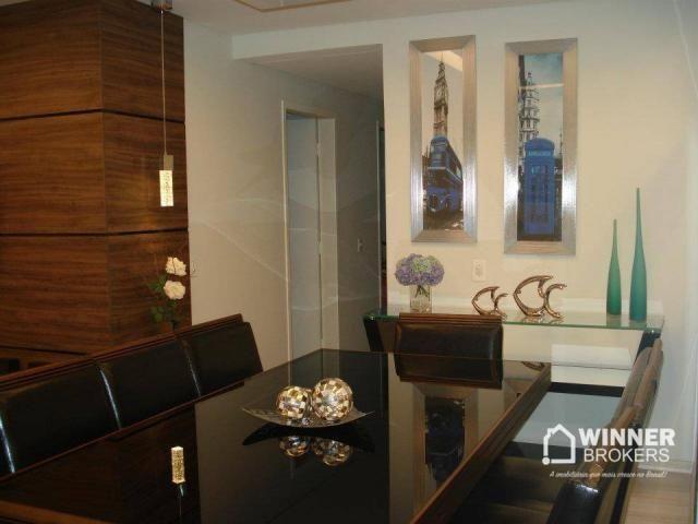 Lindo apartamento mobiliado à venda no novo centro de Cianorte! - Foto 7