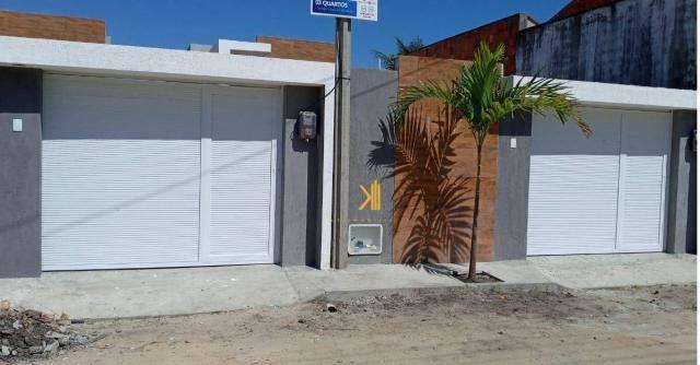 Casa com 3 dormitórios sendo 2 suítes à venda, 89 m² por R$ 265.000 - Urucunema - Eusébio/ - Foto 2