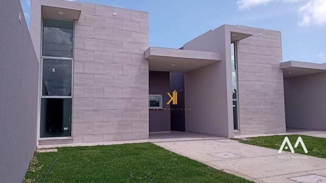 Casa Plana com 3 dormitórios sendo 2 suítes à venda, 90 m² por R$ 229.000 - Encantada - Eu - Foto 6