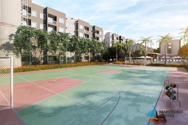 Apartamento com 2 dormitórios à venda, 49 m² por R$ 177.235,00 - Centro - Eusébio/CE - Foto 3