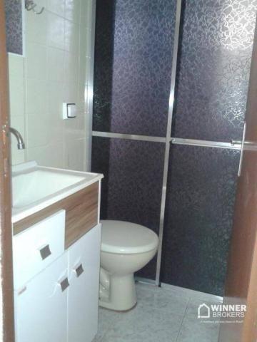 Apartamento com 2 dormitórios para alugar, 45 m² por R$ 550,00/mês - Jardim Ipanema - Mari - Foto 6