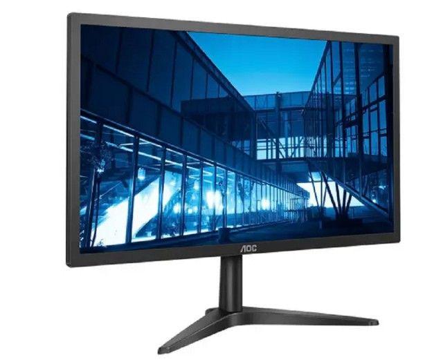 Monitor para Pc AOC B1 22B1H 21,5? LED - Widescreen Full HD Hdmi Vga  - Foto 2