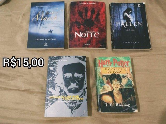 Livros - (Harry Potter, Fallen...) - Foto 4