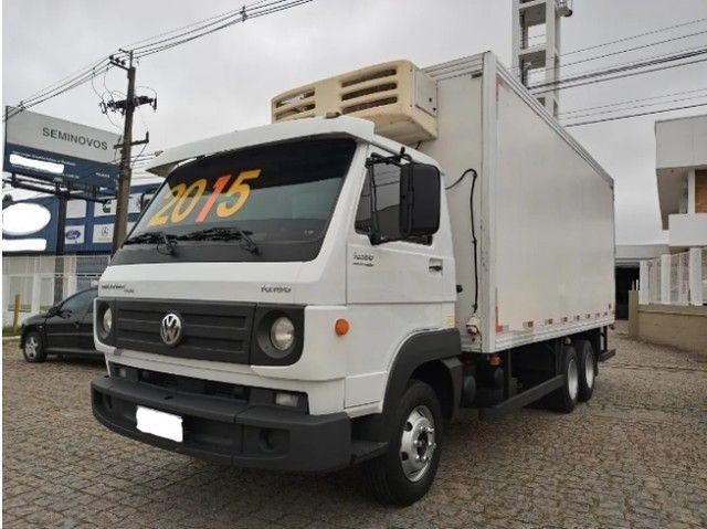 Vw 10.160 Delivery Plus Ano 2014/15 Truck / Baú Frigorífico - Foto 2