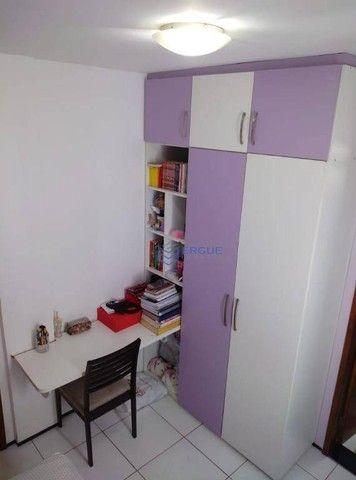Apartamento com 3 dormitórios à venda, 75 m² por R$ 190.000 - Benfica - Fortaleza/CE - Foto 17
