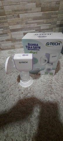 Bombinha De Tirar Leite Materno G-tech Automática Smart Bivolt - Foto 6