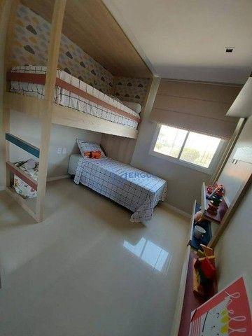 Apartamento com 2 dormitórios à venda, 56 m² por R$ 428.000,00 - Benfica - Fortaleza/CE - Foto 4