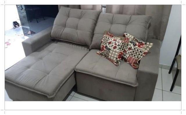 Só HOJE!! Promoção Sofá 2,00m Largura com Pillow - Apenas R$1.549,00