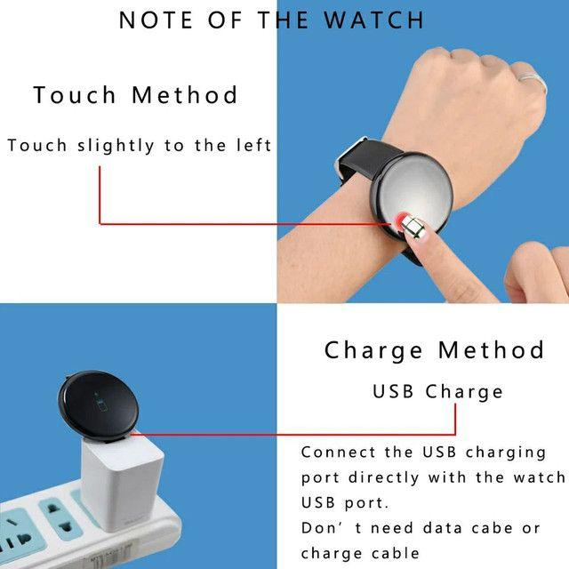 OPORTUNIDADE Smartwatch d18 aceito cartão divido sem juros - Foto 3
