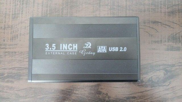 Case para HD 3.5 + 2 HDs Samsung 160gb