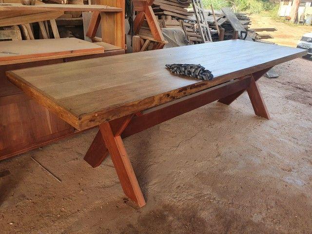 Mesa de madeira demolição  - Foto 2