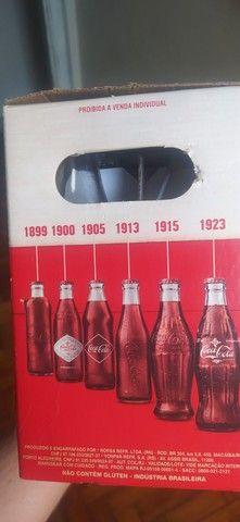 Coleção garrafas históricas Coca-Cola - Foto 3
