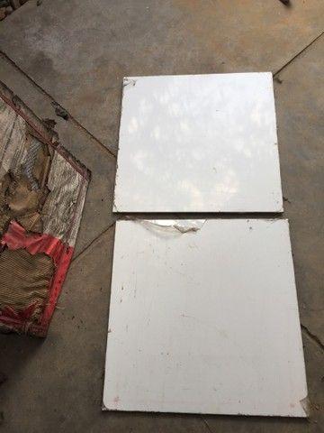 Marmoglass de 80x80cm - novas - 4 peças  - Foto 4
