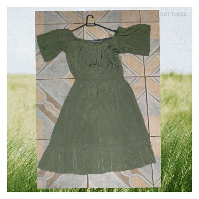Vendo vestidos pra grávidas M e G - Foto 6