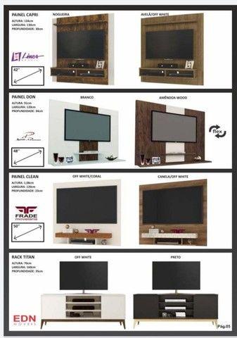 Painel para TV apartir de 200.00 novo da fabrica - Foto 6
