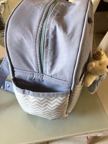 Mochilinha de bebê e porta mamadeira  - Foto 5