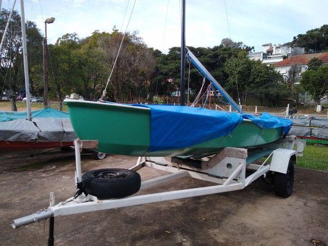 Barco monotipo snipe. - Foto 2