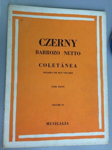 Czerny técnica para piano, 6 volumes - Foto 4