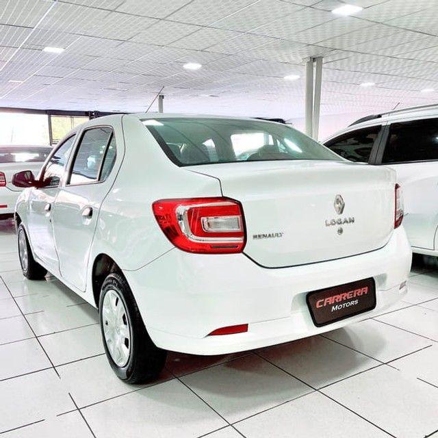 Renault Logan Authentique 1.0 12V  (Flex) - 2019 - Foto 4