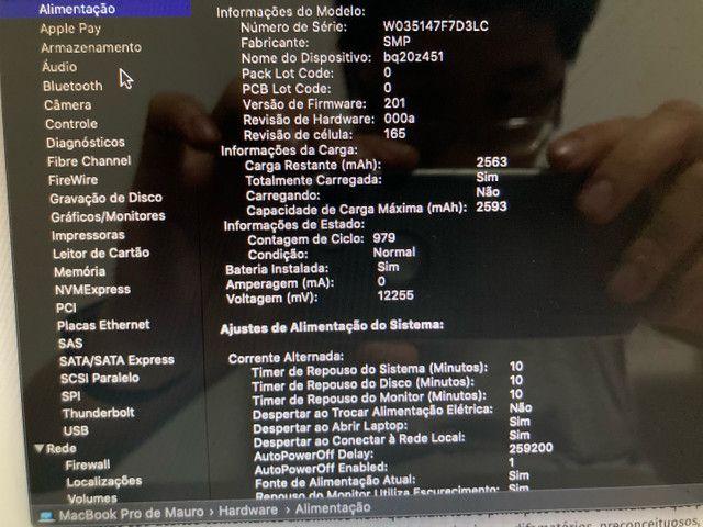 MacBook Pro 2012 16gb ram ssd 13 pol novo! - Foto 5
