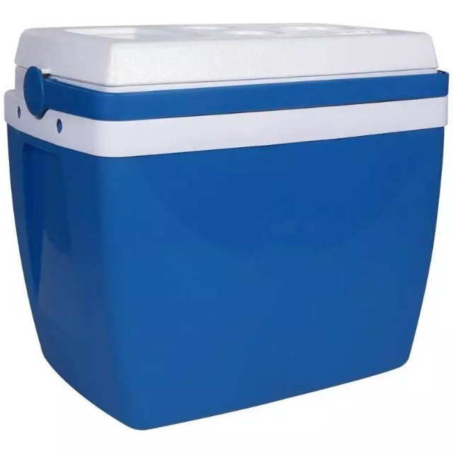 Caixa Térmica 18 Litros Azul - Foto 3