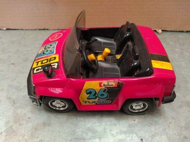 Brinquedo carrinho top car turbo