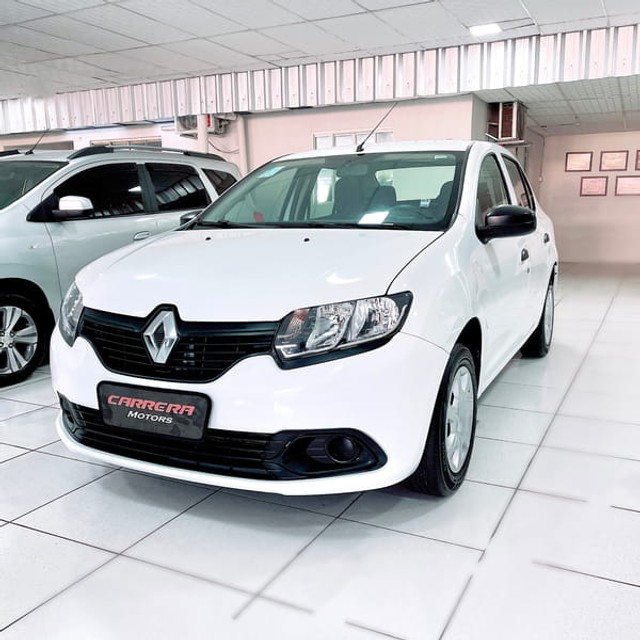Renault Logan Authentique 1.0 12V  (Flex) - 2019
