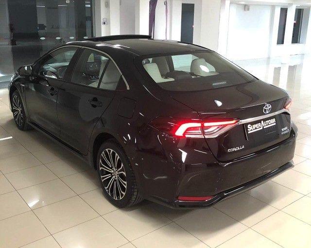 Imperdível!!! Toyota Corolla Altis Premium Hybrid 1.8AT 2021 com apenas 6 mil km! - Foto 9