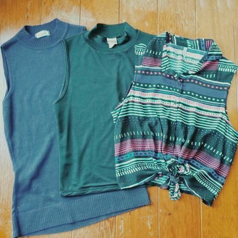 3 blusas