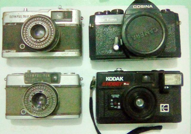 Câmeras antigas