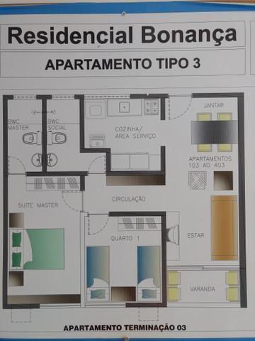 Apartamento excelente (residencial bonança) ótima localização - Foto 7