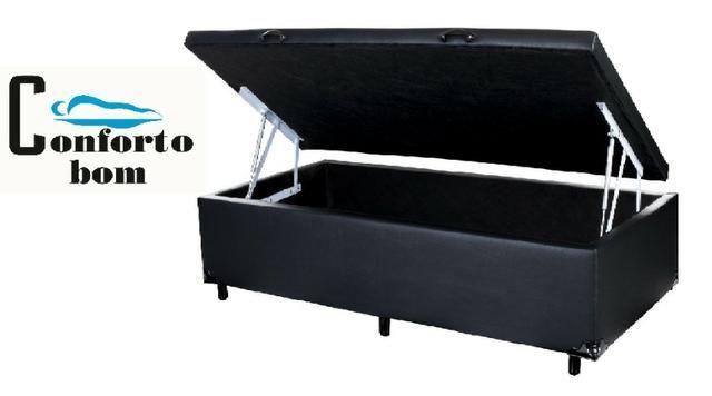 Cama Box Baú Solteiro 88x188