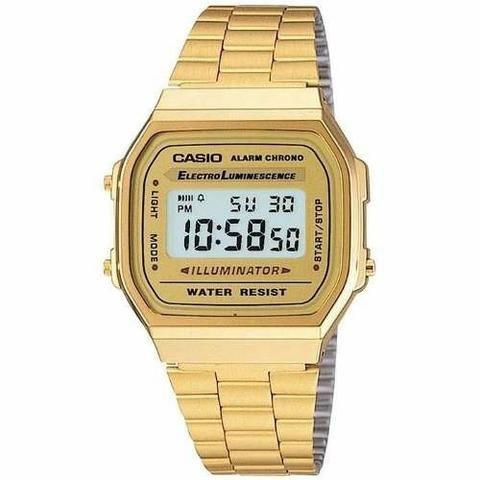 373ff81eb3f Relógio Cassio Digital Unissex Vintage modelo A168