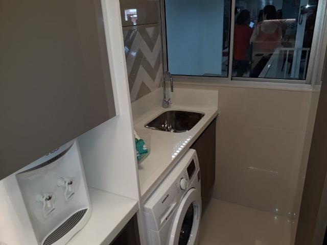 Apartamento com 2 quartas, varanda, elevador no centro de Paulista - Foto 5