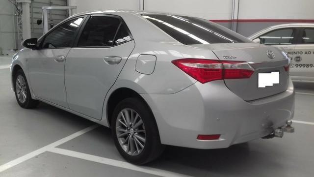 Toyota Corolla xei at muito novo, bancos de couro bege claro, um luxo de carro - Foto 7