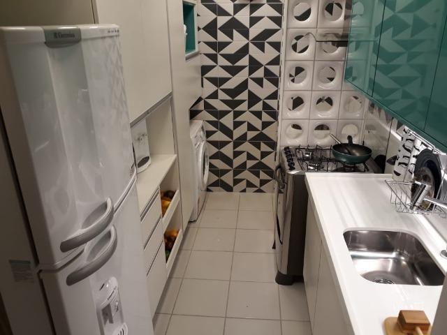 Apartamento com 2 quartas, varanda, elevador no centro de Paulista - Foto 8