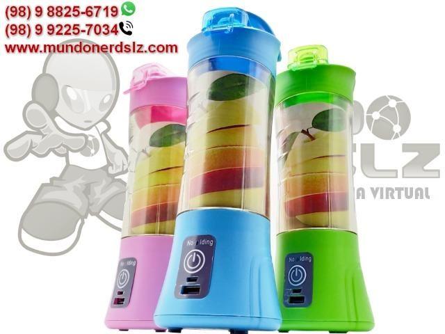 Mini Liquidificador Portátil Recarregável Juice Cup em São Luís MA - Foto 2