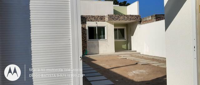 Casa plana no eusébio com terreno grande