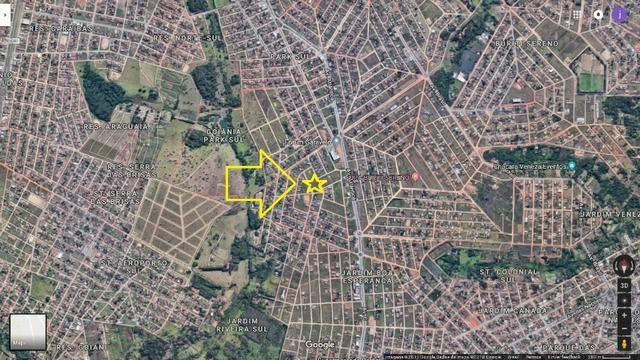 Lote Ap. de Goiânia, (casa 2 quartos). 360m2, 12x30, prox. Av. Atlantica, Goiânia Park Sul - Foto 4