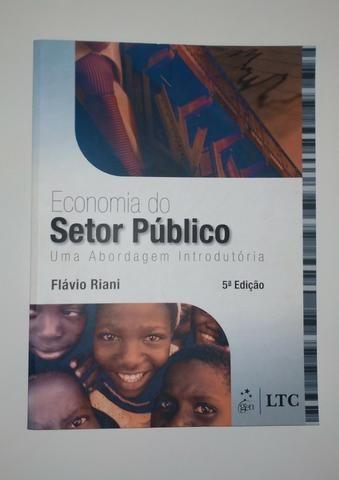 Economia Do Setor Público - 5ª Edição - Flávio Riani