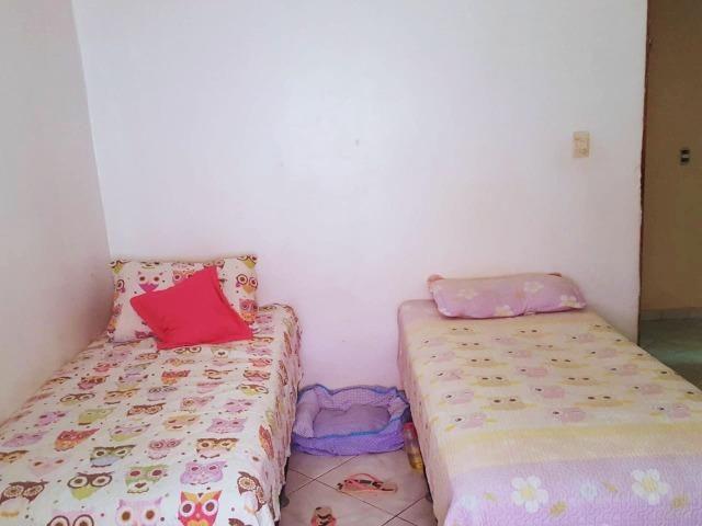 Ótima casa, toda na laje, 03 quartos! Lote de 500m² na Colônia Agrícola Samambaia - Foto 8