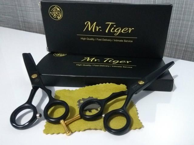 Conjunto De Tesouras Profissionais Japonesa Mr. Tiger - Foto 3