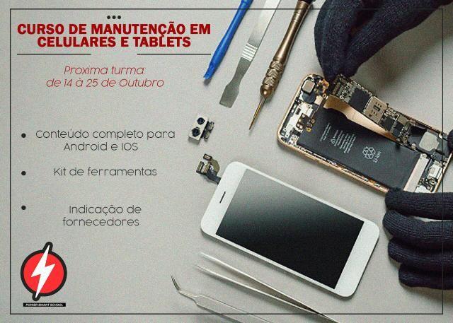Curso em manutenção de celulares e tablets - Foto 6
