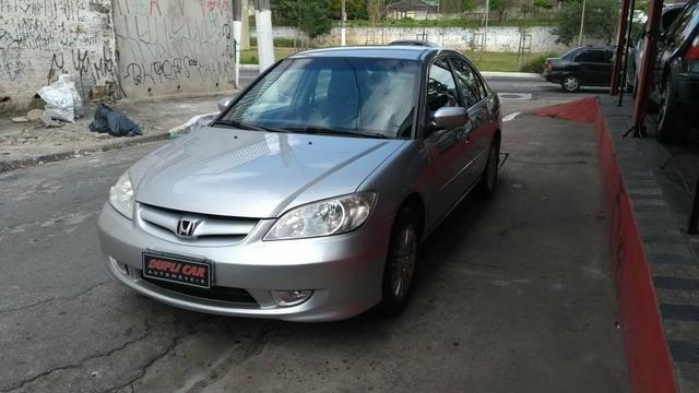Honda Civic ex automatico 2006 + couro novinho