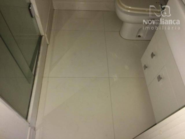 Apartamento com 3 quartos para alugar, 85 m² por R$ 1.500/mês - Itapuã - Vila Velha/ES - Foto 15