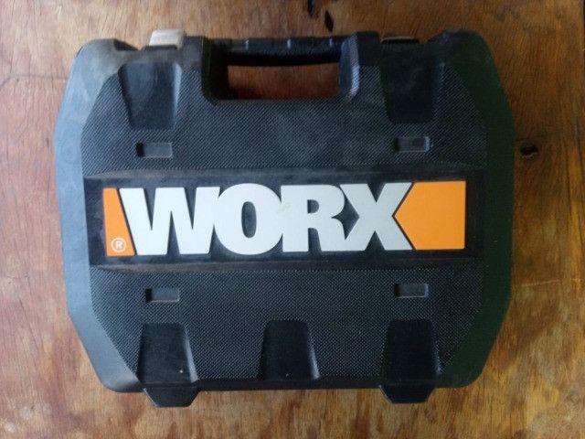 Martelete a Bateria WORX - Com Maleta e Acessórios - Foto 2