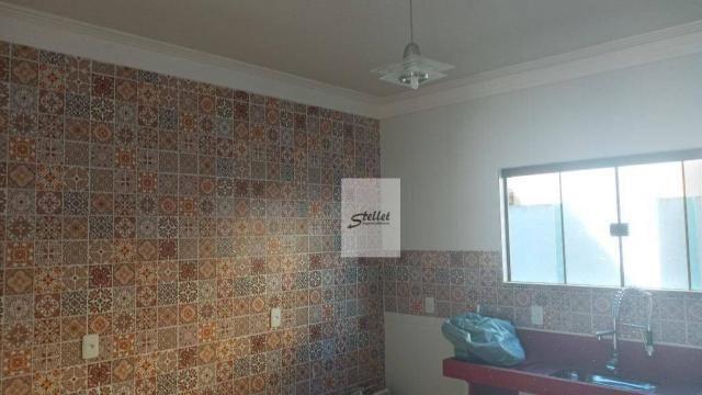 Casa com 3 dormitórios à venda, 100 m² por R$ 400.000 - Extensão do Bosque - Rio das Ostra - Foto 12
