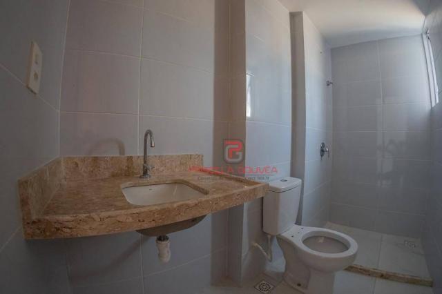Apartamento 3 quartos no Bessa com varanda gourmet e área de lazer - Foto 17
