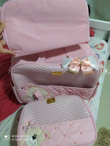 Kit de Bolsas de bebê menina - Foto 2