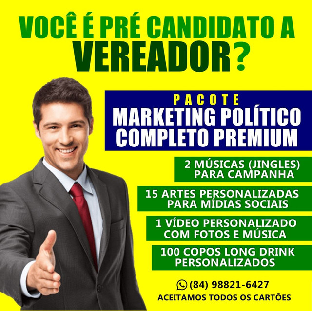 MÚSICA/JINGLE CAMPANHA POLÍTICA - R$ 170,00 VEREADOR - Foto 2
